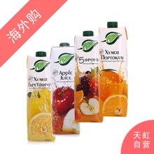 浦瑞曼果汁1L*4(西柚汁1L+橙汁1L+苹果汁1L+混合果汁1L)
