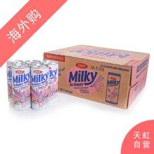 【整箱】OKF水蜜桃牛奶味碳酸饮料250ml*30支