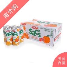 【整箱】OKF橙汁饮料(含橙果肉)240ml*24支