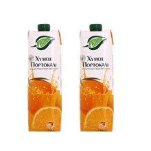 浦瑞曼100%橙汁1L*2支