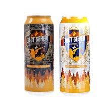 【组合装】猎人小麦啤酒NEW(500ml)+猎人黑啤酒NEW(500ml)