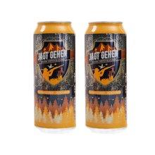 猎人黑啤酒NEW(500ml)*2罐