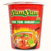 【包邮】泰国进口 养养牌酸辣虾味汤面70g*3