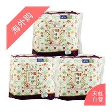 【3包装】韩国LG贵爱娘中草夜用药卫生巾33cm(12片/包)