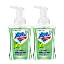 【2瓶装】舒肤佳泡沫抗菌洗手液青苹果香型(225ML)