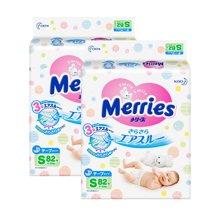 Merries 日本花王纸尿裤S82片*2包组合