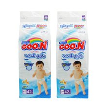 【2包装】日本GOO.N大王纸尿裤维E系列(XL42片)