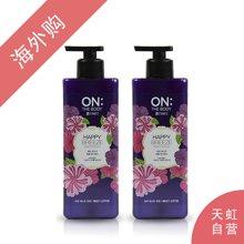 【2瓶装】韩国ON:THE BODY 浪漫邂逅香水沐浴露 500ml/瓶