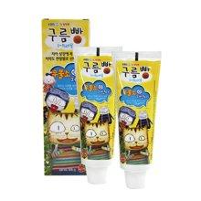 【2支装】CLIO木糖醇幼童牙膏(100g)