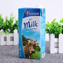 纽倍格部份脱脂牛奶1L*12【德国进口】