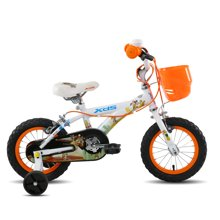 喜德盛 儿童自行车12寸自行车带安全辅助轮男女小孩单车探险家儿童山地车