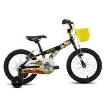 喜德盛 儿童自行车16寸自行车带安全辅助轮男女小孩单车探险家儿童山地车