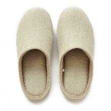智庭出口日本男女士家居日式素色居家情侣静音地板室内春天麻拖鞋
