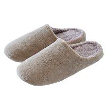 智庭  情侣居家居室内地板防滑静音软底简约冬季男女士保暖棉拖鞋