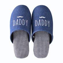 智庭秋冬季情侣男女日式软底居家鞋三口之家静音保暖棉拖鞋儿童鞋