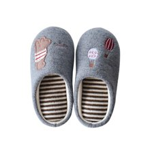 智庭秋冬季情侣男女日式软底防滑居家鞋亲子款儿童静音保暖棉拖鞋