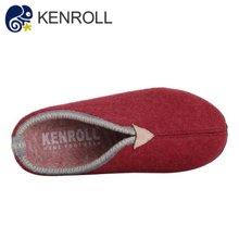 kenroll科柔冬季棉拖鞋男士厚底保暖防滑女半包跟居家羊毛毡拖鞋情侣鞋
