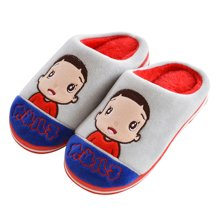 冬季儿童拖鞋亲子鞋宝宝鞋居家室内家居男宝宝女宝宝防滑防水棉鞋