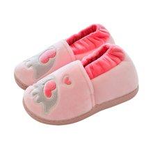 卡通动物可爱儿童棉鞋男女童宝宝居家软底室内保暖防滑棉鞋秋冬季
