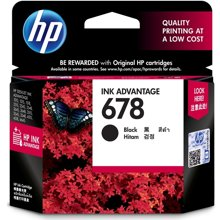 HP CZ107AA 678 黑色墨盒(/)