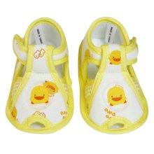 黄色小鸭 黄色小鸭 格状婴儿学步鞋 810178