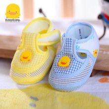 黄色小鸭 黄色小鸭 全棉鞋面网状婴儿学步鞋 810177