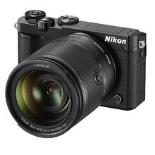 尼康J5 微单相机 尼克尔 VR防抖 10-100mm f4-5.6(可换镜数码套机 黑色+128G卡+脚架 2080万有效像素 可更换镜头 4K视频录制 可翻折触摸屏)