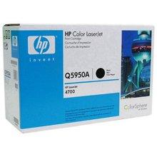 惠普 Q5950A 打印机墨粉硒鼓 黑色 (适用 Color LaserJet 4700打印机系列 )(Q5950A)
