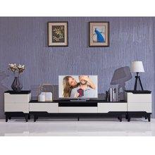 皇家爱慕现代简约客厅钢化玻璃电视柜2026