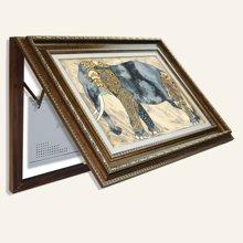 墨菲 电表箱装饰画随意停美式客厅遮挡箱创意画餐厅欧式现代挂画