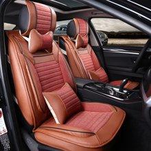 车爱人汽车坐垫 整套开天款全包新款座垫座套内饰用品(开天款A版豪华款)红色