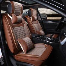 车爱人汽车坐垫 整套开天款全包新款座垫座套内饰用品(开天款A版豪华款)咖啡色