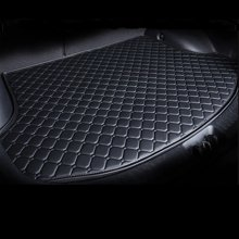 车爱人后备箱垫专车专用汽车后备箱垫 定制皮革新款菱形尾箱垫