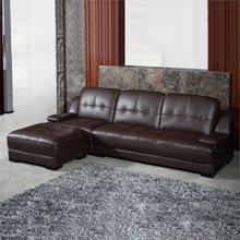 皇家爱慕真皮沙发皮艺组合小户型客厅转角简约现代沙发头层牛皮宜家风格