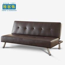 雅客集比其尔休闲沙发-咖啡色FB-16051BR