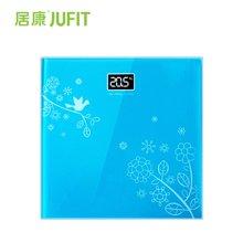 居康JFF002ES电子秤 体重秤 人体秤 钢化玻璃  全家健康