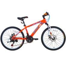 喜德盛童车22寸儿童自行车儿童单车6速机械碟刹避震前叉熊出没官方授权之冠军熊