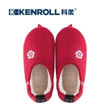 KENROLL科柔冬季包跟棉拖鞋男女情侣居家室内加厚毛毛软底防滑月子鞋
