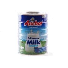 【海外直邮】新西兰Anchor安佳全脂儿童成人补钙奶粉900g*1罐装(如备注下单保质期18年6月的可88元一罐,收到后退差价)
