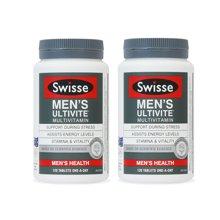 【海外直邮】大瓶更划算  澳洲Swisse男士复合维生素120粒*2瓶装