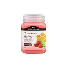 【海外直邮】澳洲Streamland新溪岛蔓越莓蜂蜜500g*1罐装