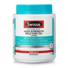 SWISSE畅通血管深海鱼油(无腥)400粒/瓶