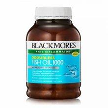 Blackmores澳佳宝无腥深海鱼油胶囊预防三高 400粒/瓶