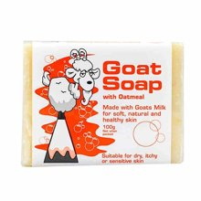 The Goat Skincare瘦羊奶皂天然温和燕麦味100g/块