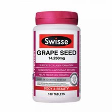 Swisse花青素葡萄籽胶囊美白抗衰老180粒/瓶