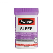 澳洲Swisse Sleep 睡眠片100粒 改善睡眠 缓解压力