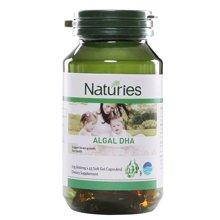 【新西兰】Naturies奈氏力斯 DHA藻油软胶囊 保护大脑 45粒