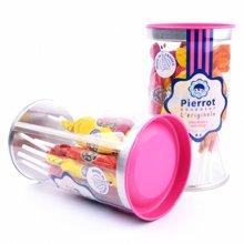 法国Andros棒棒糖锥形 混合水果糖四口味 星巴克同款157g*2桶共24支 包邮