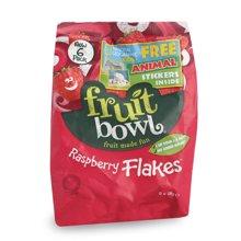 英国果宝 fruit bowl 树莓 味水果片独立包装6条*18g 进口宝宝零食