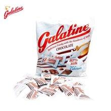 GALATINE佳乐锭牛奶糖(巧克力味) 100g 意大利原装进口